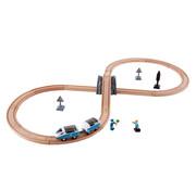 Hape Treinset Safety Set met Achtvormig Spoor
