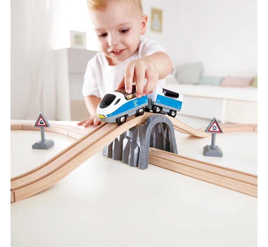 Treinset Safety Set met Achtvormig Spoor