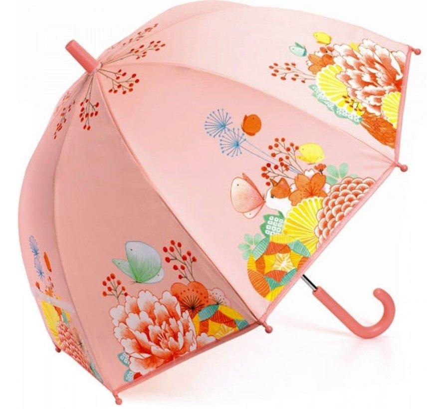 Kinderparaplu Bloementuin