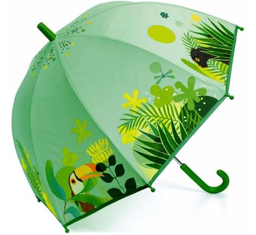 Djeco Kinderparaplu Tropical Jungle
