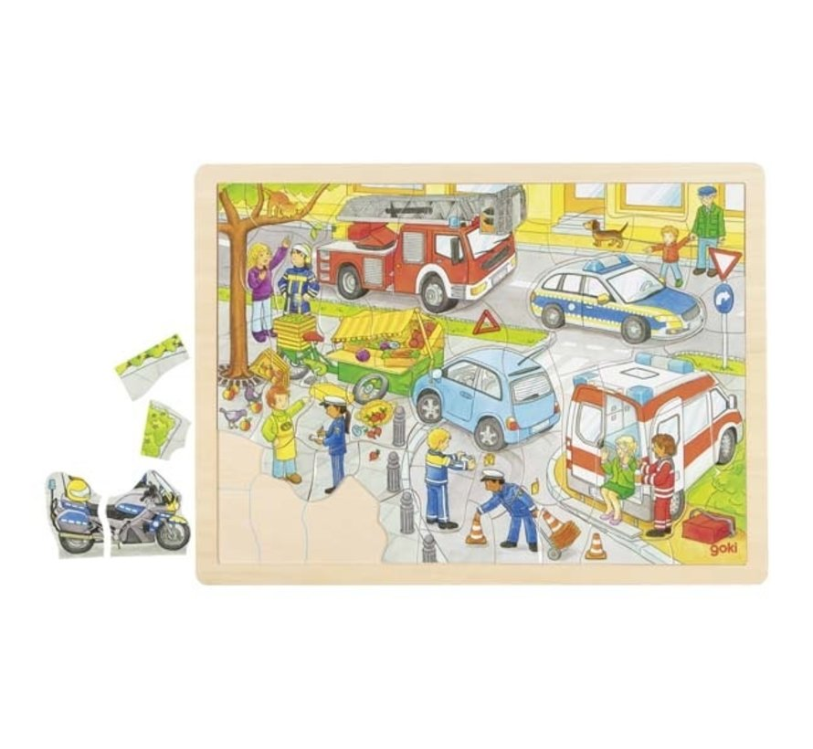 Puzzel Politie