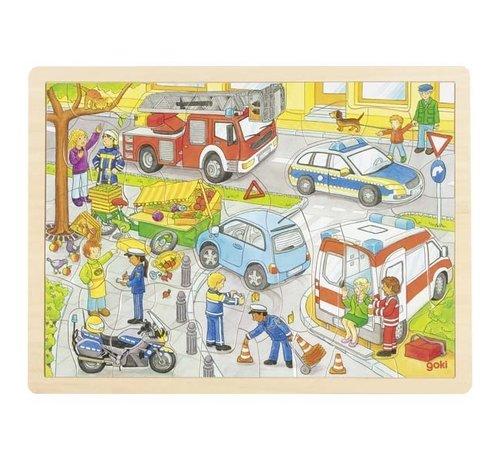GOKI Puzzel Politie