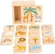Small Foot Memory Game Safari