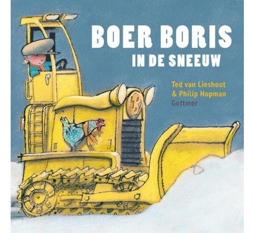 Gottmer Boer Boris in de sneeuw