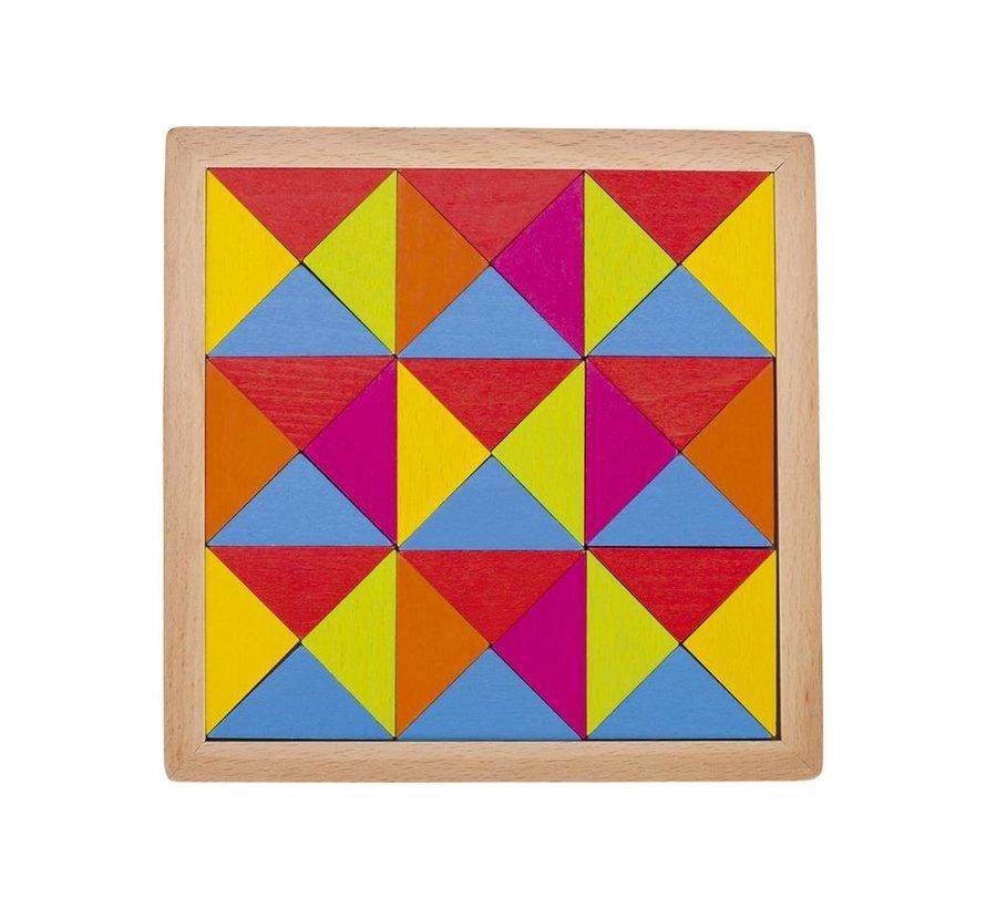 Puzzel Regenboog Hout