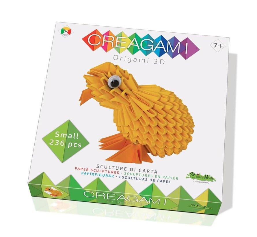 Origami Kuiken 3D S