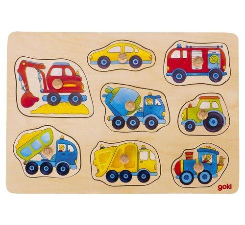 GOKI Vehicles lift-out puzzle