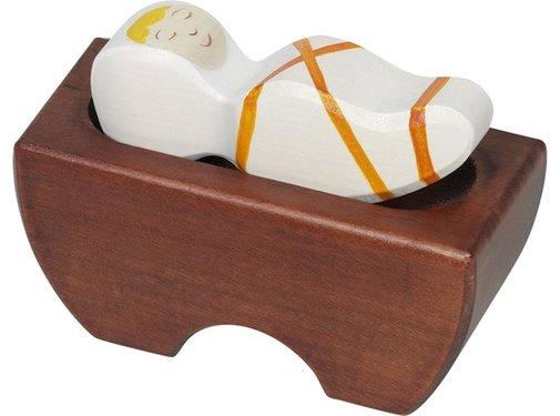 Holztiger Baby Jesus 80310