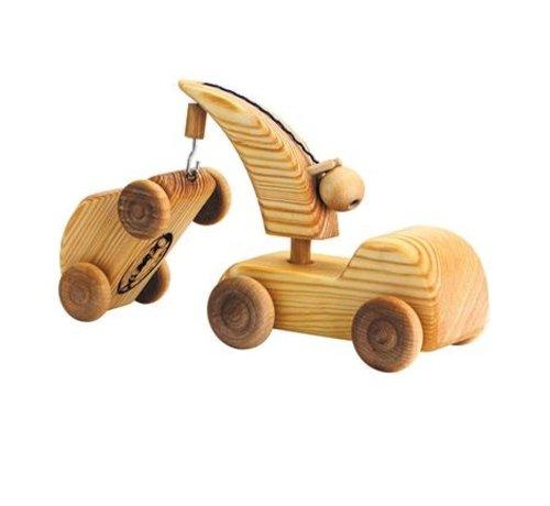 Debresk Kraanwagen met Auto Klein Hout