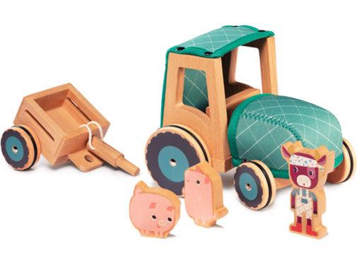Lilliputiens Tractor Rosalie