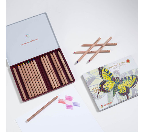 Stockmar Coloured Pencils Hexagonal 18+1