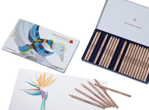 Stockmar Coloured Pencils Triangular 24+1