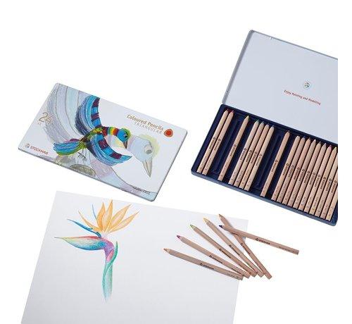 Stockmar Coloured Pencils Hexagonal 24+1