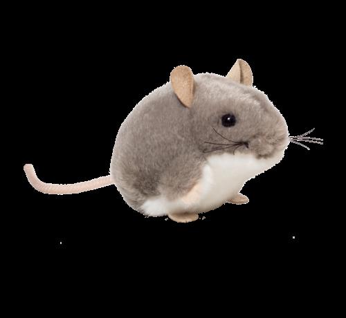 Hermann Teddy Stuffel Animal Mouse Grey 9 cm
