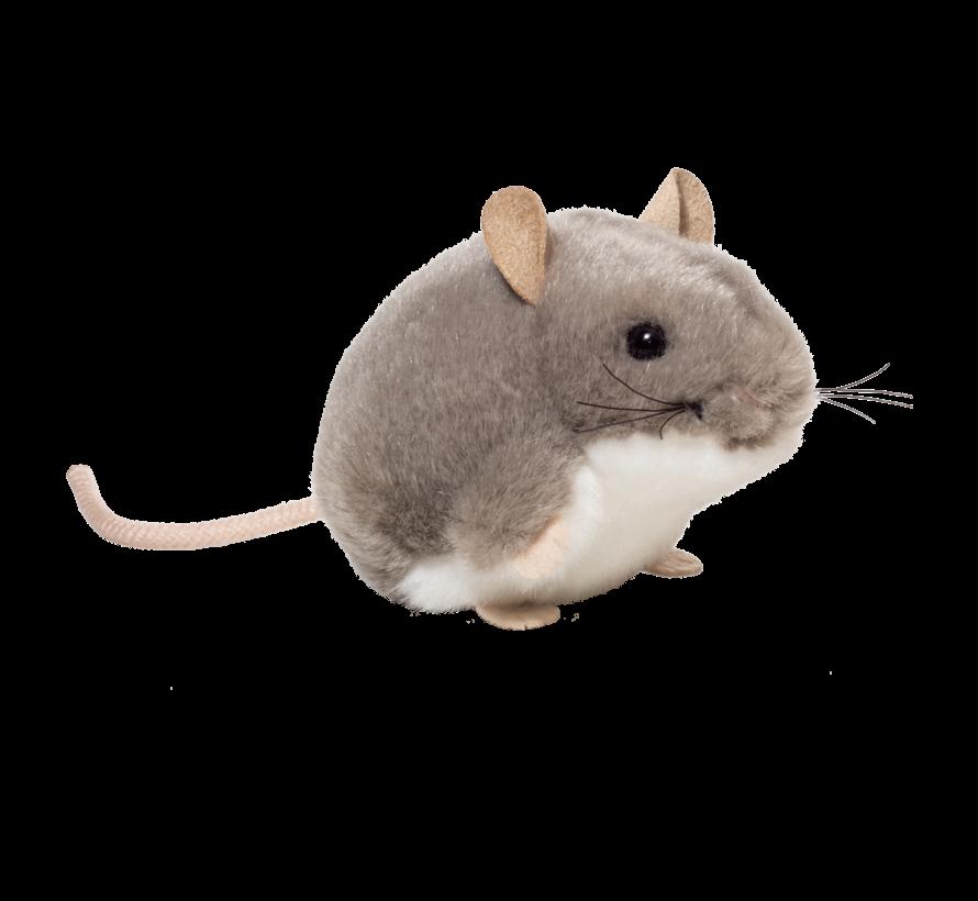 Stuffel Animal Mouse Grey 9 cm