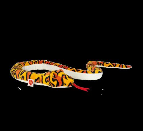 Hermann Teddy Stuffed Animal Snake Yellow-Orange