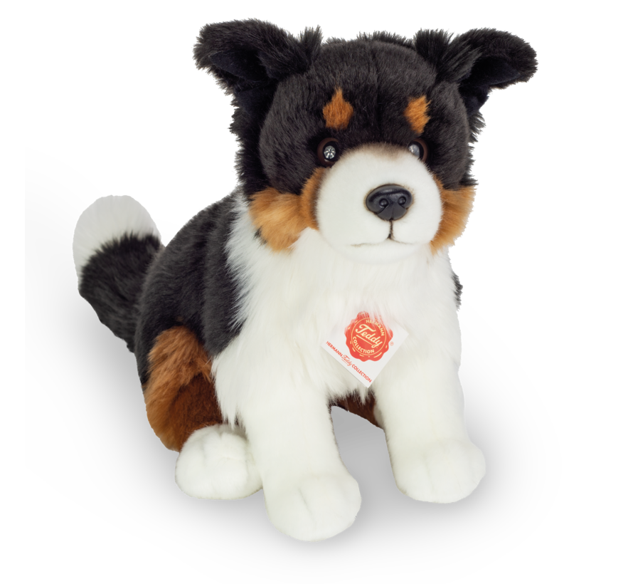 Knuffel Hond Border Collie tri-color