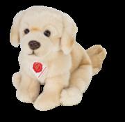 Hermann Teddy Knuffel Hond Golden Retriever Zittend 25 cm