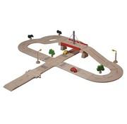 PlanToys Wegenset Road System Deluxe