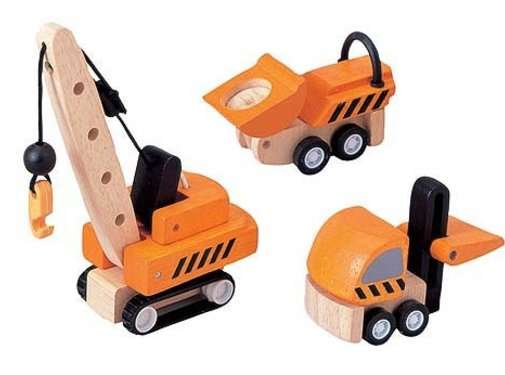 PlanToys Voertuigen Bouw Construction Vehicles