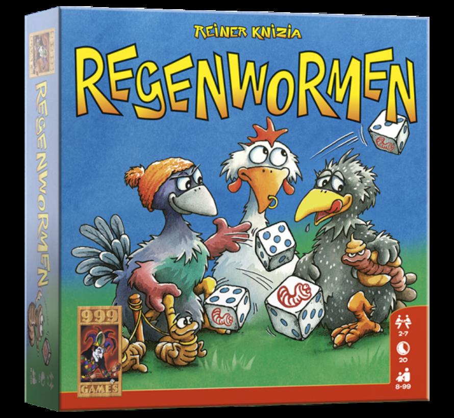 Regenwormen Dobbelspel