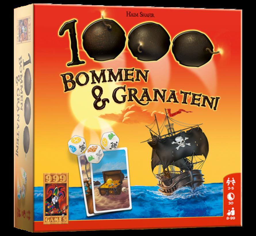 1000 Bommen en Granaten! Dobbelspel