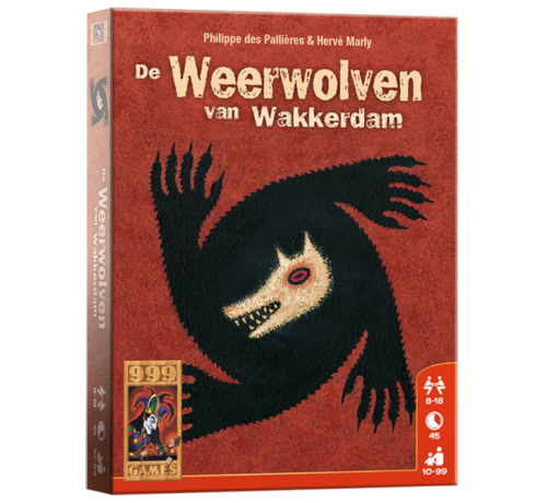 999 Games De Weerwolven van Wakkerdam Kaartspel