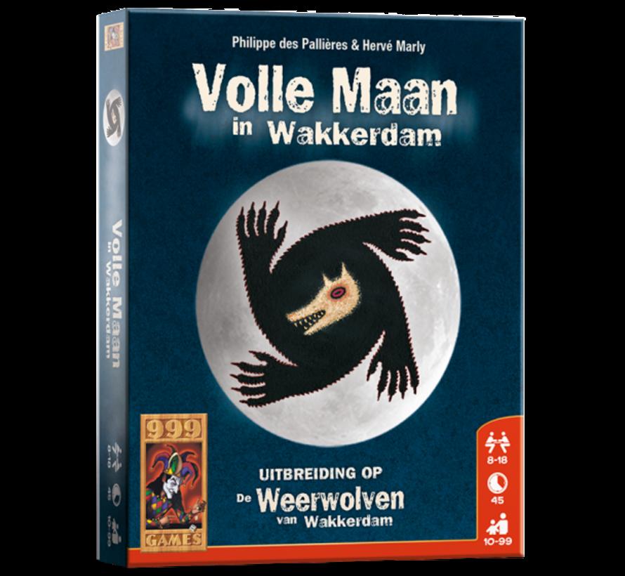 Volle Maan in Wakkerdam Kaartspel
