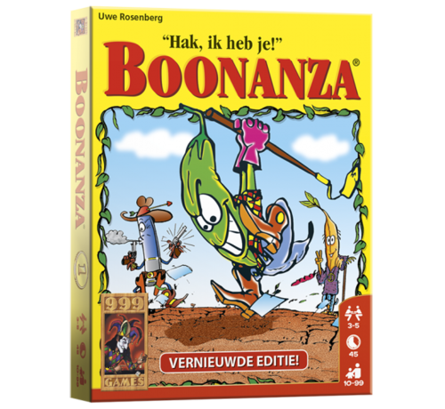 999 Games Boonanza Kaartspel