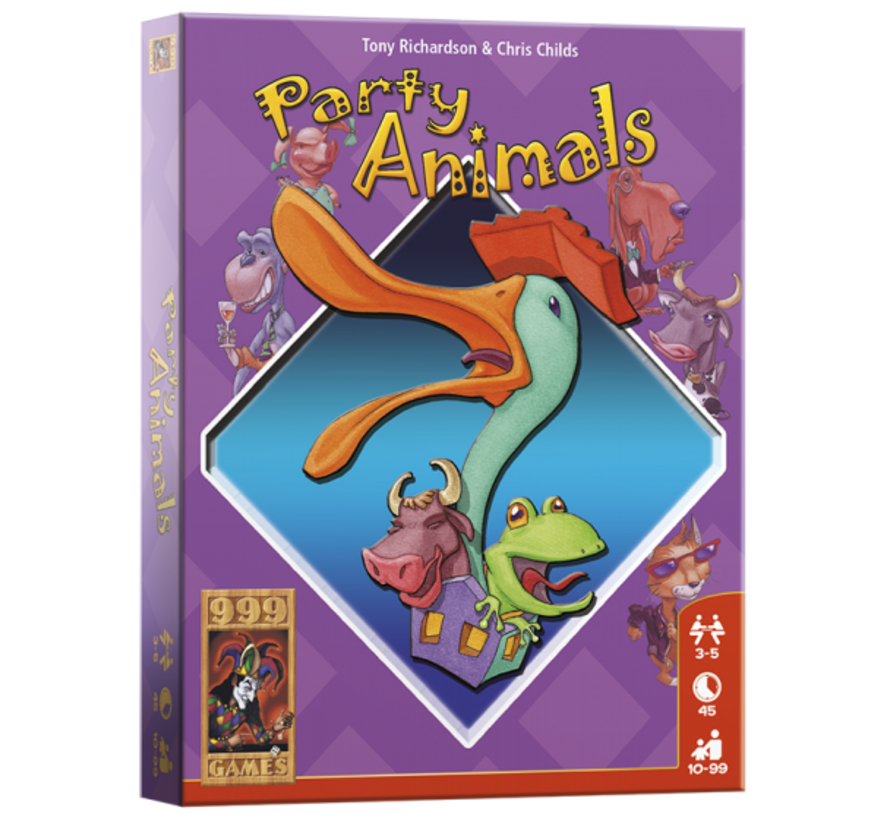 Party Animals Kaartspel