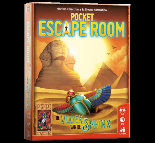 999 Games Pocket Escape Room Vloek van de Sphinx Breinbreker