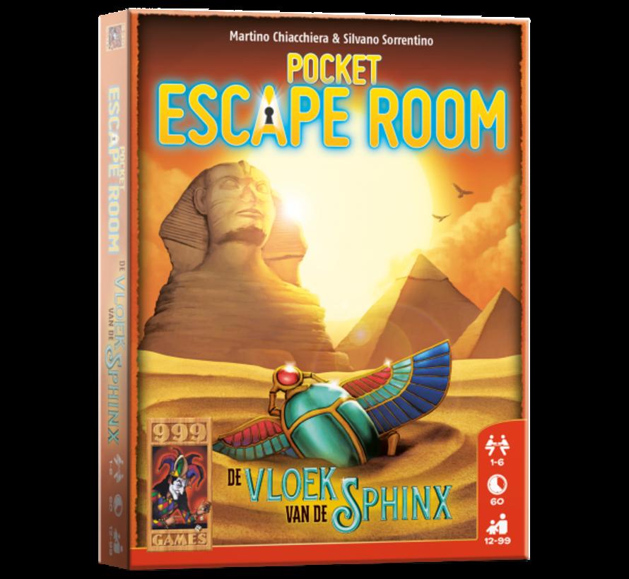 Pocket Escape Room Vloek van de Sphinx Breinbreker
