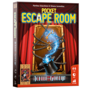 999 Games Pocket Escape Room Achter het Gordijn Breinbreker