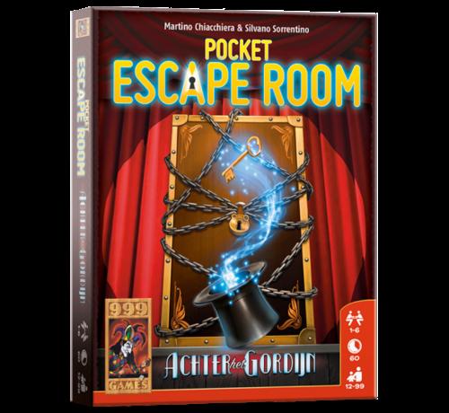 999 Games Pocket Escape Room Achter het Gordijn Breinbreker