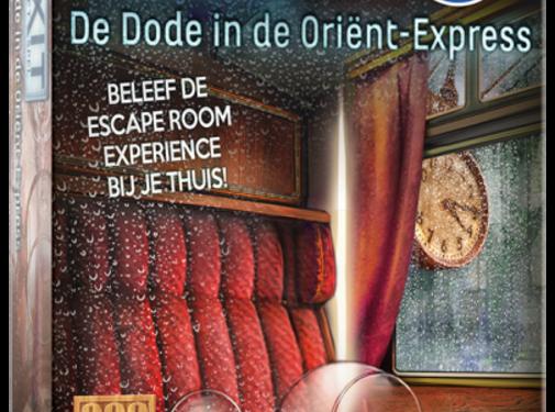 999 Games EXIT De Dode in de Orient Express Breinbreker