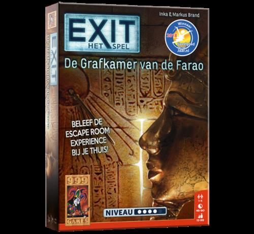 999 Games EXIT De Grafkamer van de Farao Breinbreker