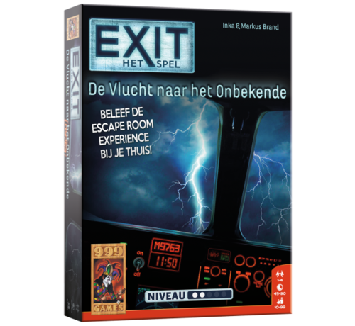 999 Games EXIT De Vlucht naar het Onbekende Breinbreker