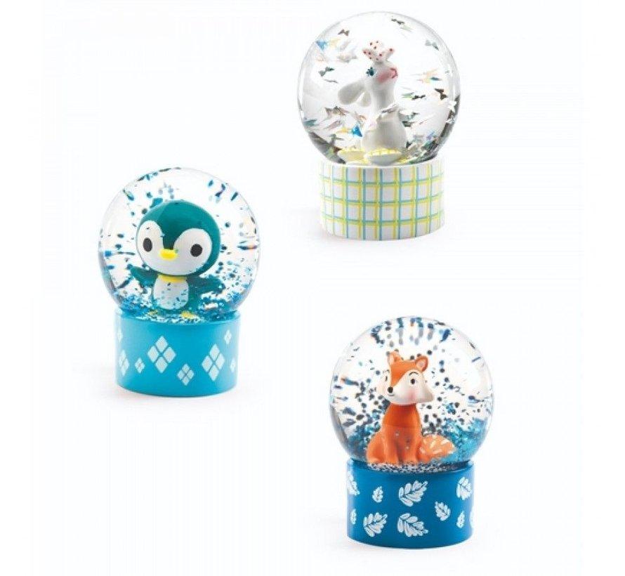 Mini Snow Globe Animals