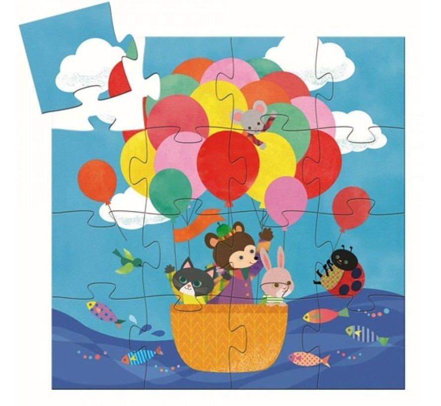Puzzel Heteluchtballon