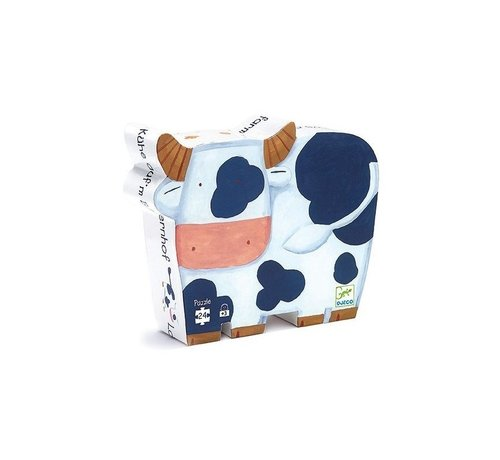 Djeco Puzzel Koeien op de Boerderij