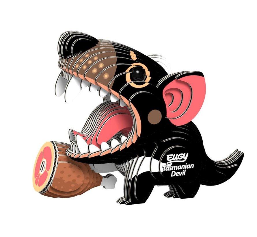 3D Cardboard Model Kit Tazmanian Devil