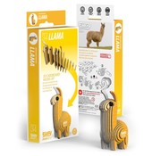 Eugy 3D Cardboard Model Kit Llama