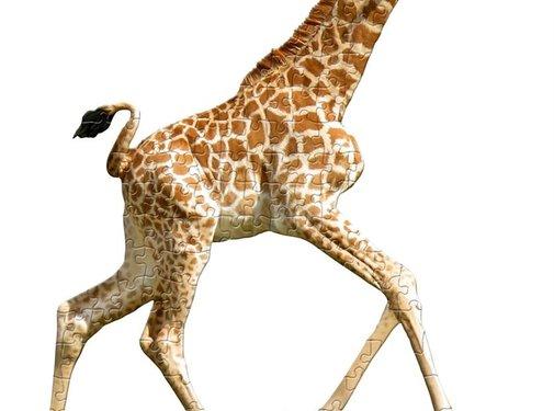 Madd Capp Puzzel Giraf I AM Lil'  Giraffe 100pcs