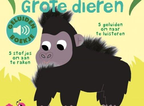 Clavis Grote dieren (geluidenboekje met voelplekken)