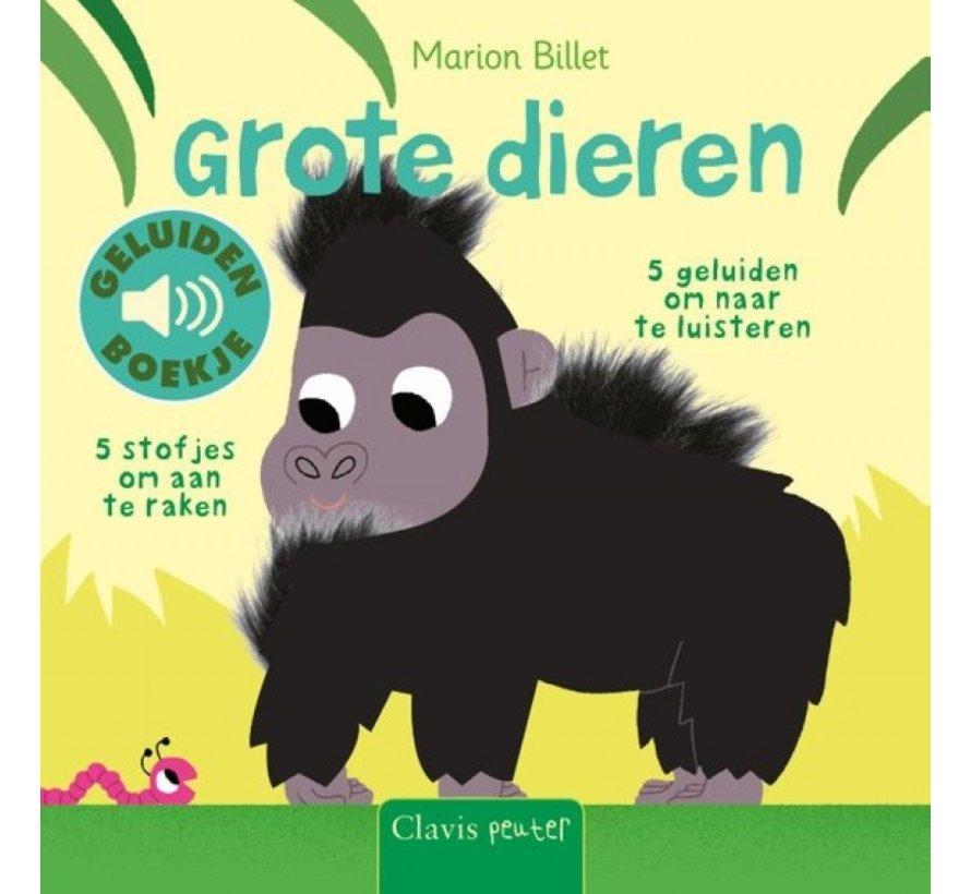 Grote dieren (geluidenboekje met voelplekken)