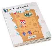 Lilliputiens Mijn eerste Puzzelboek 123 Forest