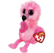 ty Beanie Boo's Dainty Heart Flamingo 15cm