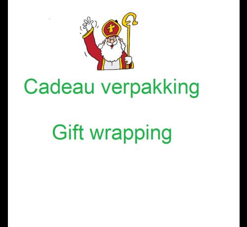 Houtendiershop Cadeauverpakking  Sinterklaas
