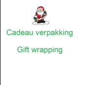 Houtendiershop Cadeauverpakking  Kerst