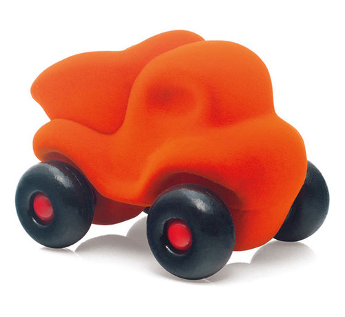Rubbabu Little Vehicle Orange